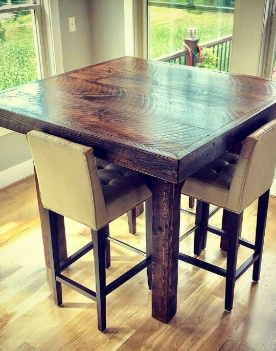 Chic & Antique Pub Table